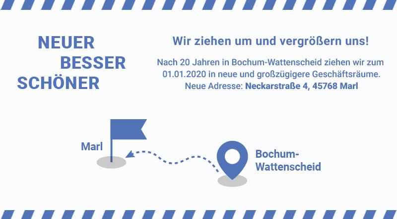 AS Bauer Umzug Standort Marl